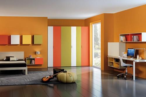 Cameretta Arancione E Blu : Camerette archivi pagina 2 di 2 eri mobili su misura